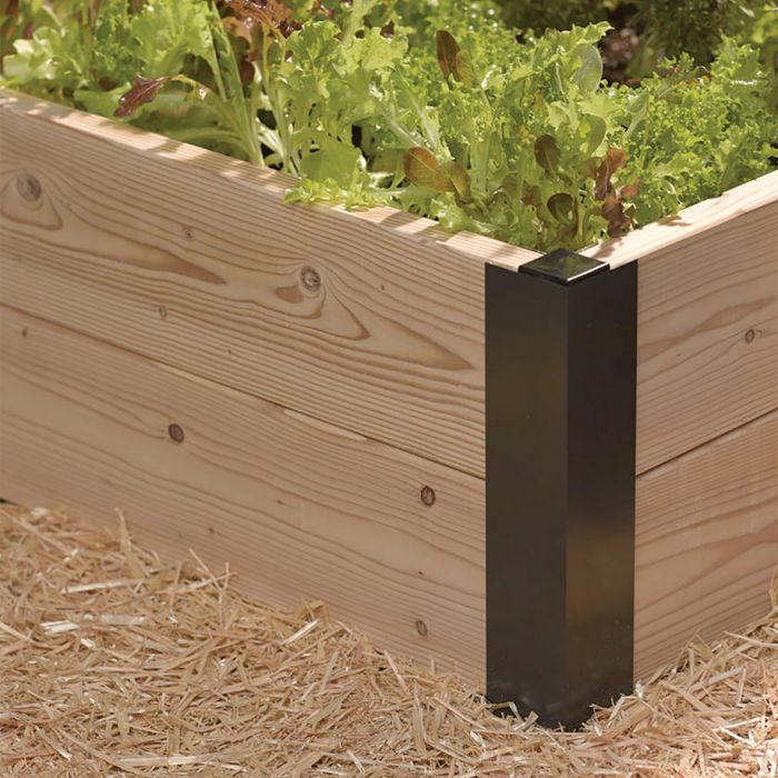 All Aluminum Raised Bed Corners And Connectors Tools Accessories Veseys