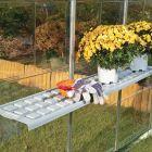 Greenhouse Twin Shelf Kit