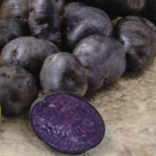 Purple Peruvian Fingerlings Potatoes Thumbnail