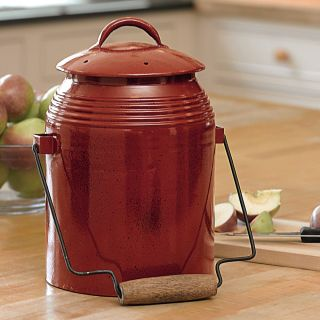 Rustic Kitchen Compost Crock and Accessories Thumbnail
