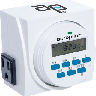 7 Day Dual Outlet Digital Timer Thumbnail
