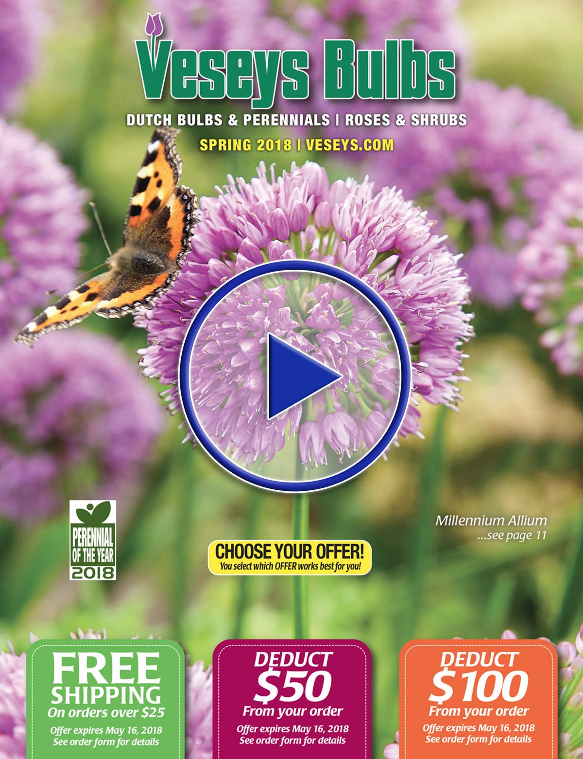 2018 Veseys Spring Bulb Digital catalogue