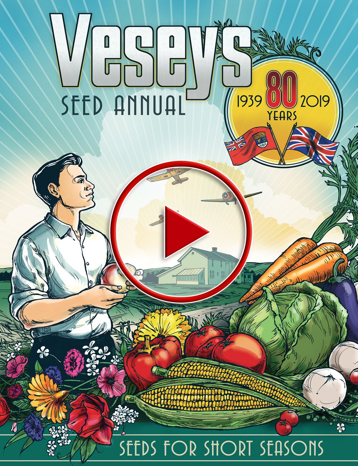 2019 Veseys Seeds Digital Catalogue