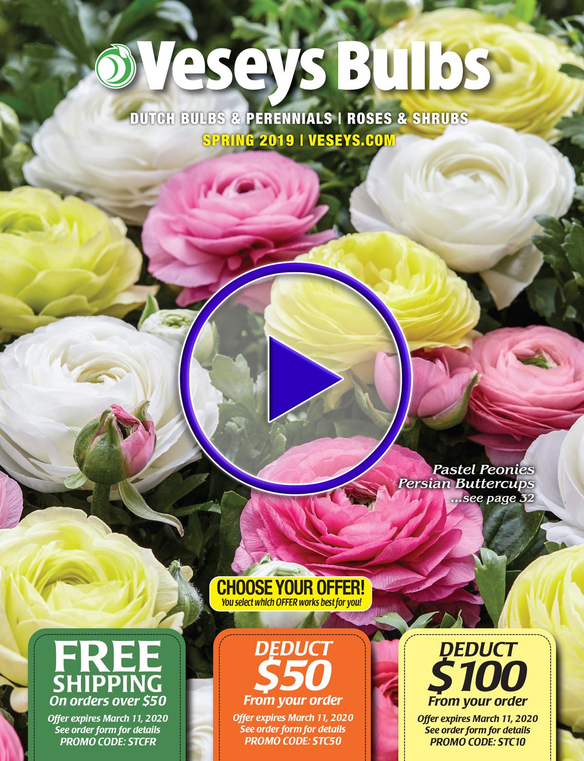 2020 Spring Bulbs & Perennials