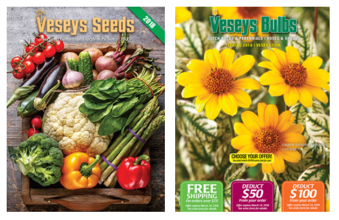 Veseys seed catalogue